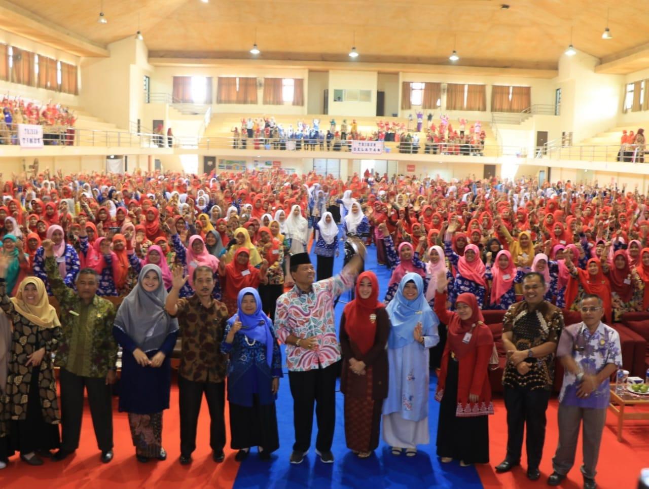 Ribuan Guru Paud Luak Limopuluah Ikuti Pelatihan Akbar