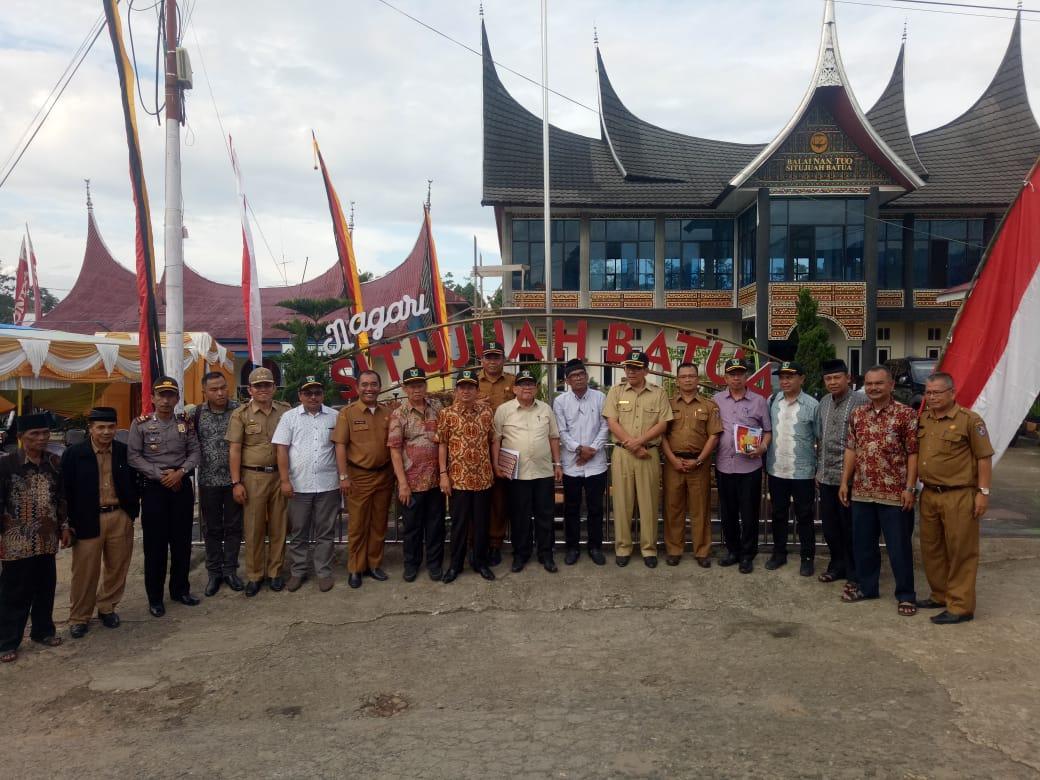 Situjuah batua Wakili Limapuluh Kota Dalam Penilaian Transparansi Dana Desa